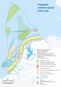 Integrated maritime spatial policy map