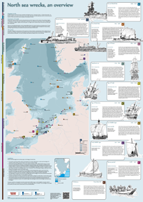 North Sea wrecks, an overview